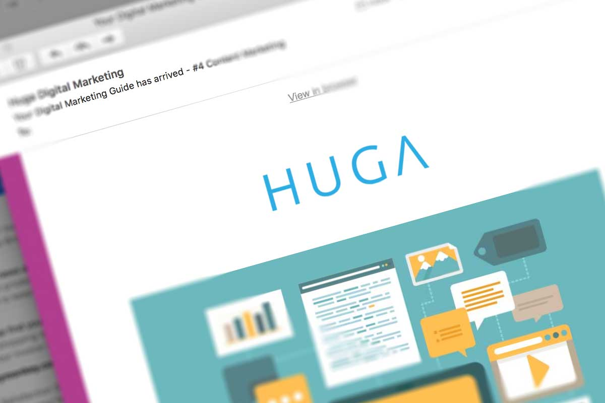 Newsletters - Huga Digital Marketing Sussex - Web Design Sussex